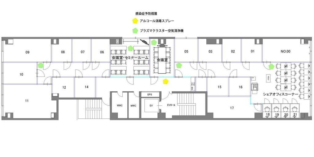 赤坂レイアウト図